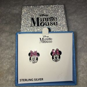 SS MINNIE MOUSE EARRINGS